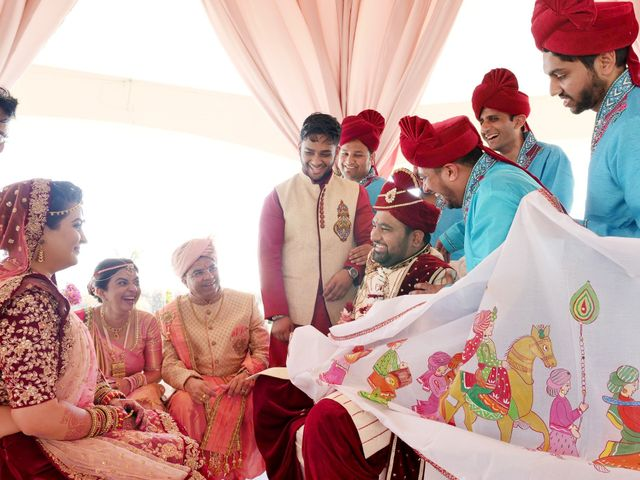 Mrugesh and Saachi's Wedding in Cancun, Mexico 43