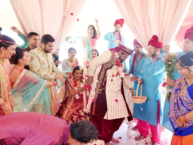 Mrugesh and Saachi's Wedding in Cancun, Mexico 49