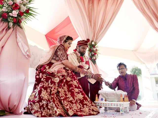 Mrugesh and Saachi's Wedding in Cancun, Mexico 50