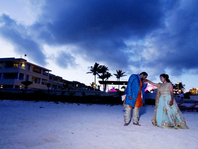 Mrugesh and Saachi's Wedding in Cancun, Mexico 68