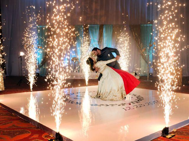 The wedding of Saachi and Mrugesh