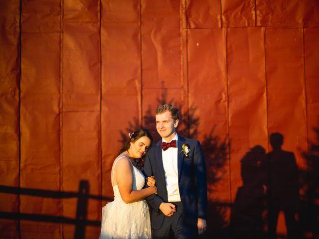 The wedding of Cameron and Emma