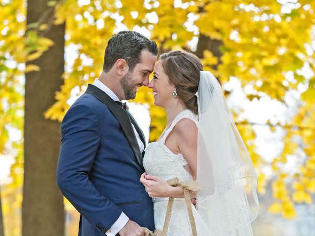The wedding of Joseph and Melissa
