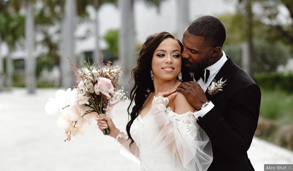 Jessica and Lamar's Wedding in Miami, Florida
