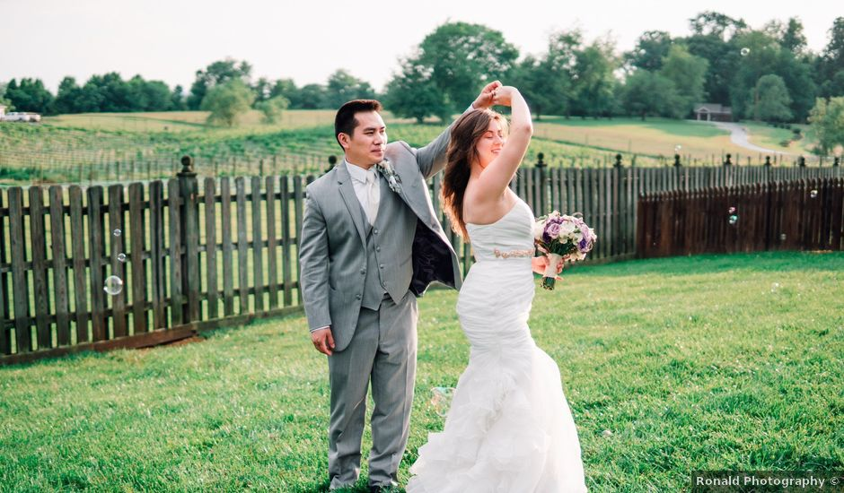 Phat and Natelee's Wedding in Waterford, Virginia