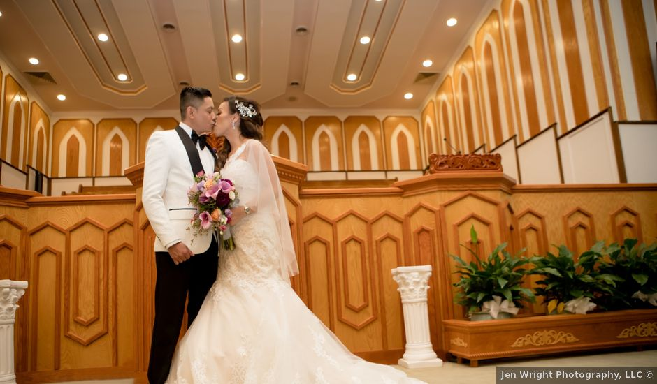 Eric and Kristine's Wedding in Temple Hills, Maryland