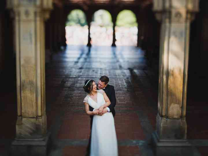 The wedding of Tyne and James
