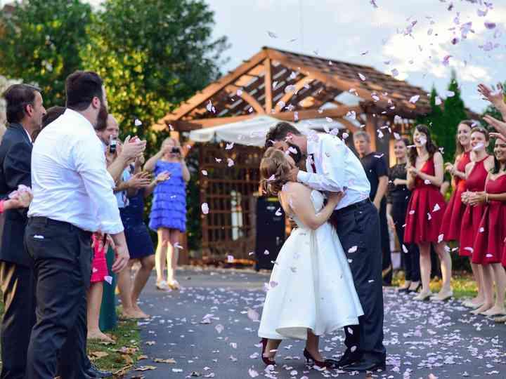 The wedding of Katrin and Ryan