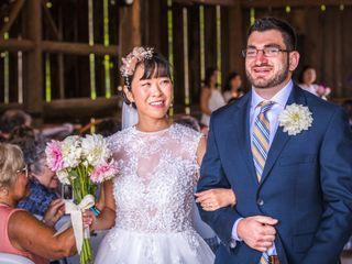 The wedding of Rachael and Nick