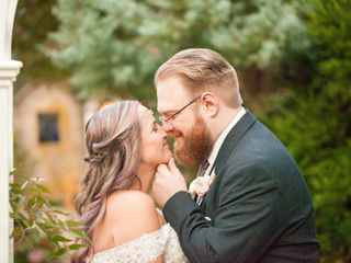 The wedding of Milena and Adam