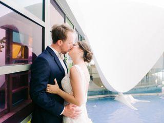 The wedding of Katherine and Tim