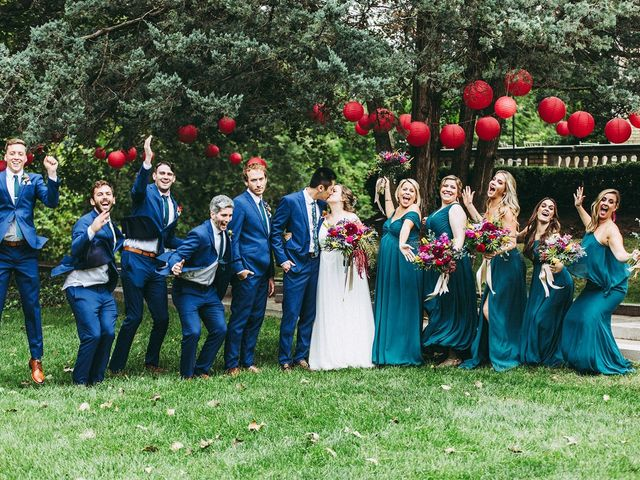 Katie and Oliver's Wedding in Indianapolis, Indiana 13