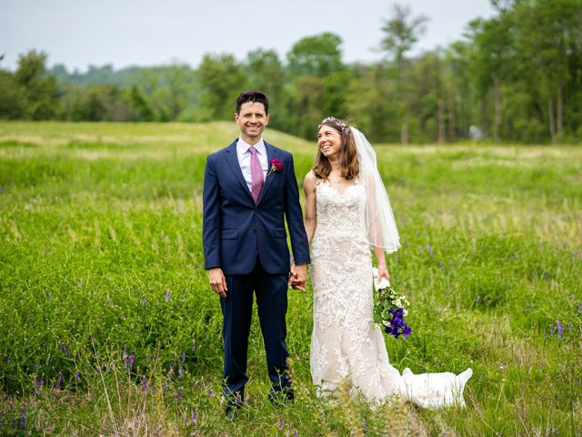 The wedding of Alicia and James