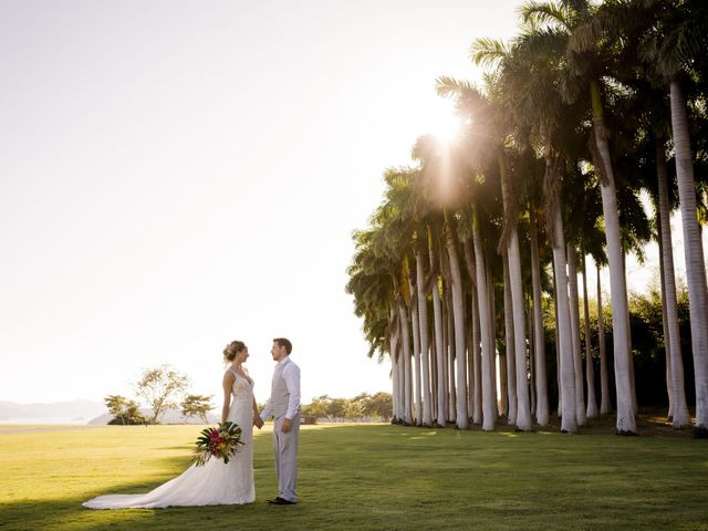 The wedding of Corinne and Elijah