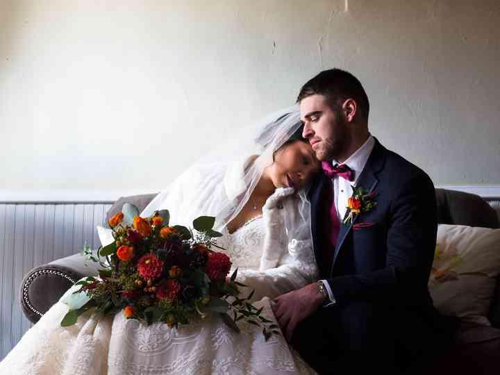 The wedding of Alison and Jake
