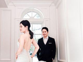 The wedding of Rachel and Yong 1