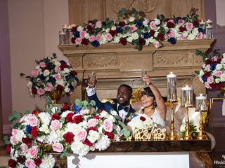 The wedding of Jessica and Derrick 1