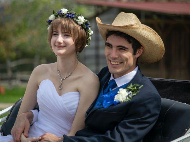 The wedding of Katie and Enzo