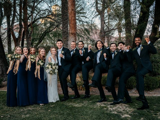 Chandler and Amberly's Wedding in Las Vegas, Nevada 46