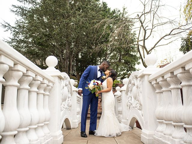 The wedding of Jessica and Derrick