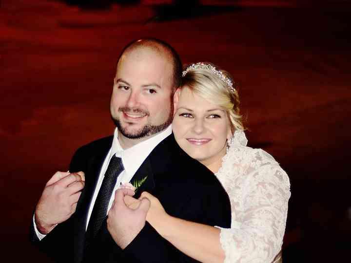 The wedding of Jen and Jason