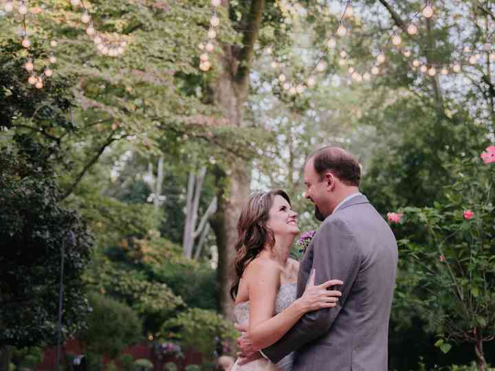 The wedding of Steve and Tricia