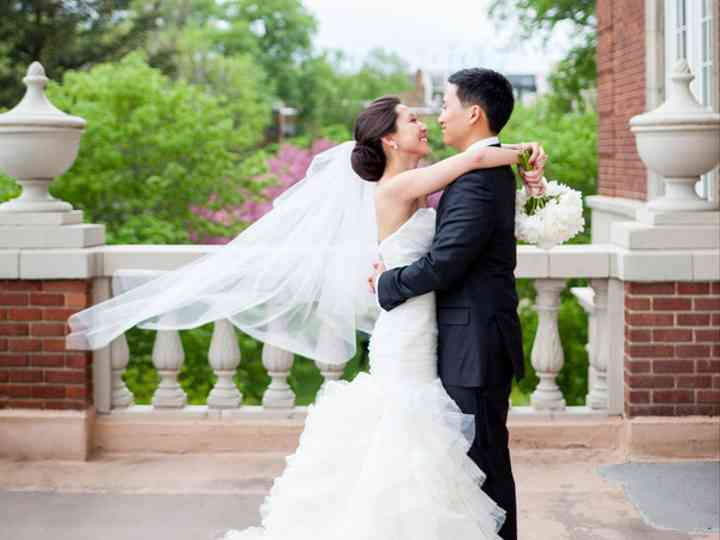 The wedding of Paul and Briana