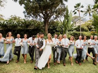 The wedding of Alicia and Nathaniel 1