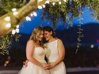 The wedding of Linda and Sara