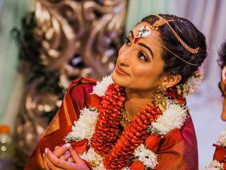 The wedding of Sandhya and Parashar 1