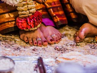 The wedding of Sandhya and Parashar 2