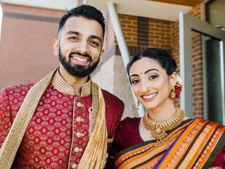 The wedding of Sandhya and Parashar