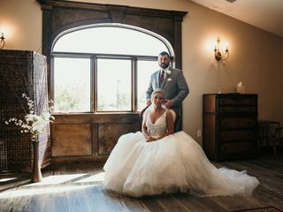 The wedding of Cassandra and Colin