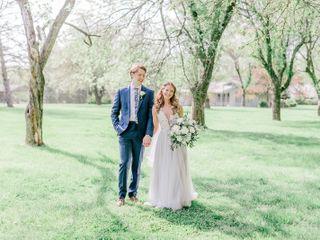 The wedding of Alan and Cristina