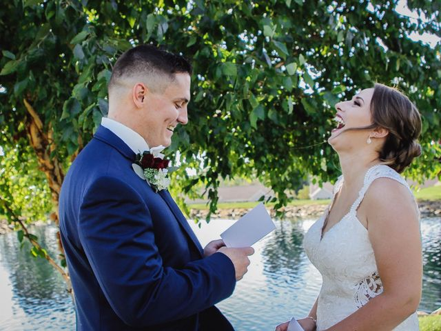Briana and Dan's Wedding in Youngstown, Ohio 3