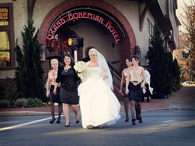 Jason and Jen's Wedding in Asheville, North Carolina 25