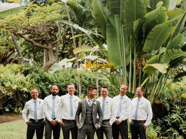 Nathaniel and Alicia's Wedding in Kailua Kona, Hawaii 3