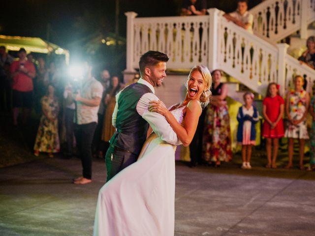 Nathaniel and Alicia's Wedding in Kailua Kona, Hawaii 10