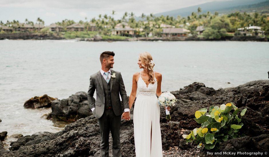 Nathaniel and Alicia's Wedding in Kailua Kona, Hawaii