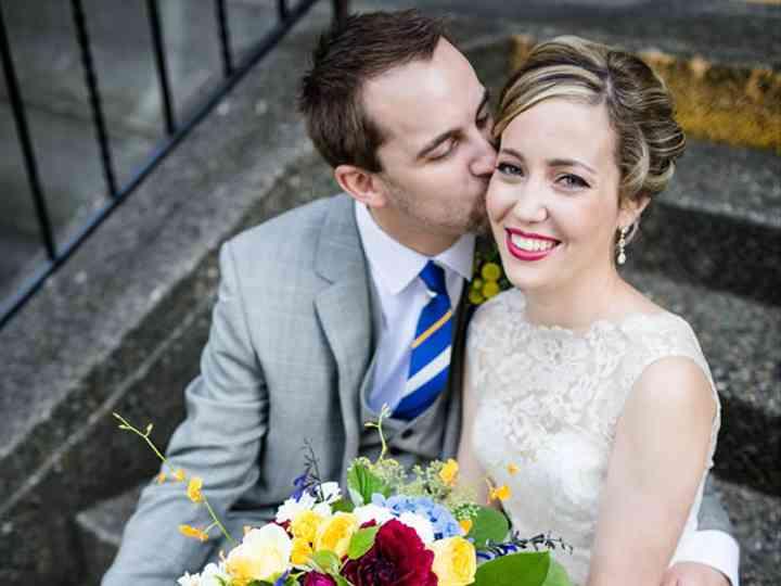 The wedding of Matt and Sarah