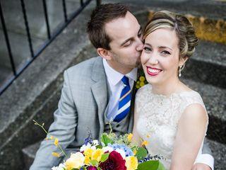 The wedding of Matt and Sarah 1