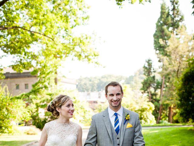 Sarah and Matt's Wedding in Seattle, Washington 19