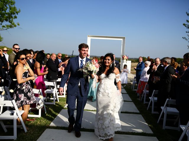 Niusha and Andrew's Wedding in Dripping Springs, Texas 13