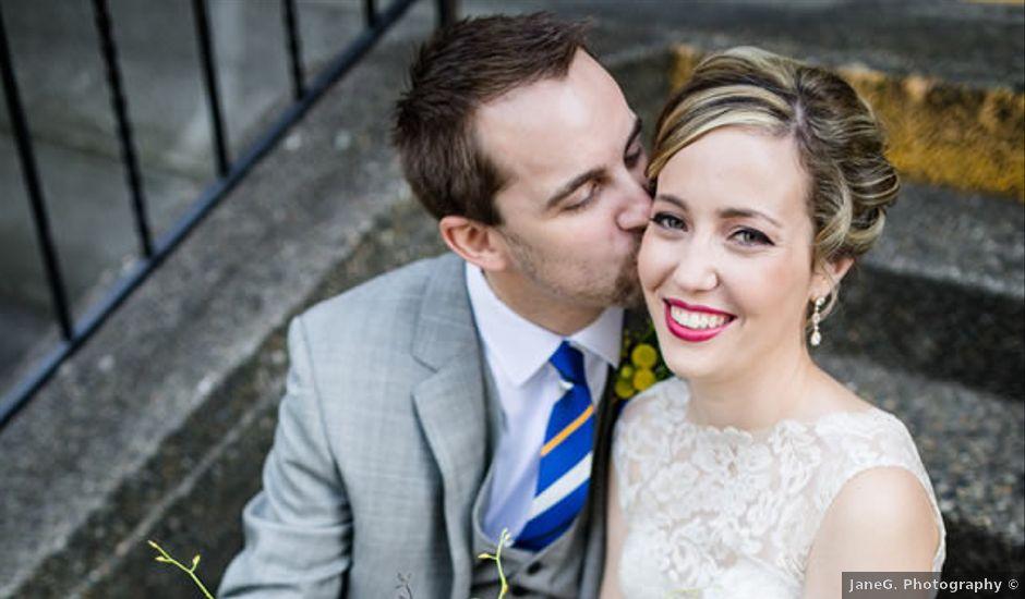 Sarah and Matt's Wedding in Seattle, Washington