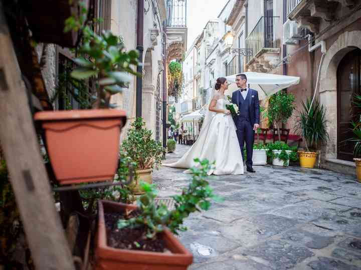 The wedding of Martina and Salvo