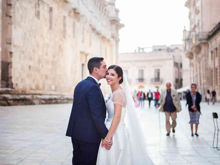 The wedding of Martina and Salvo