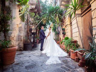 The wedding of Martina and Salvo 1