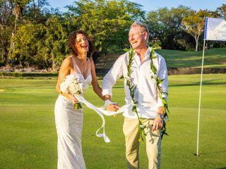 The wedding of Tara and Kas