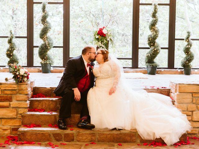 Jordan and Ashley's Wedding in Walnut Shade, Missouri 43
