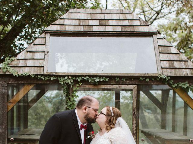 Jordan and Ashley's Wedding in Walnut Shade, Missouri 56